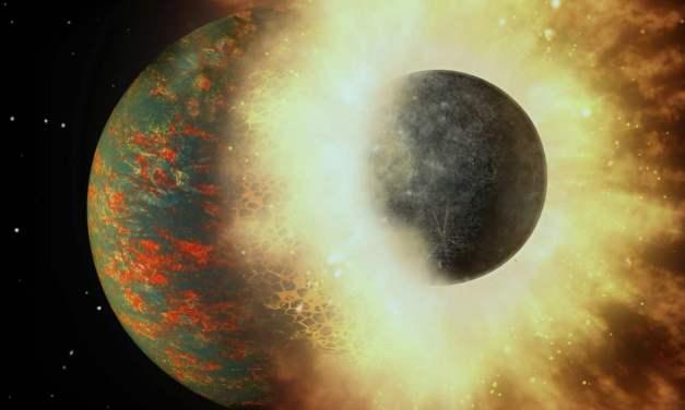 El carbono de la Tierra pudo venir de una colisión con un protoplaneta