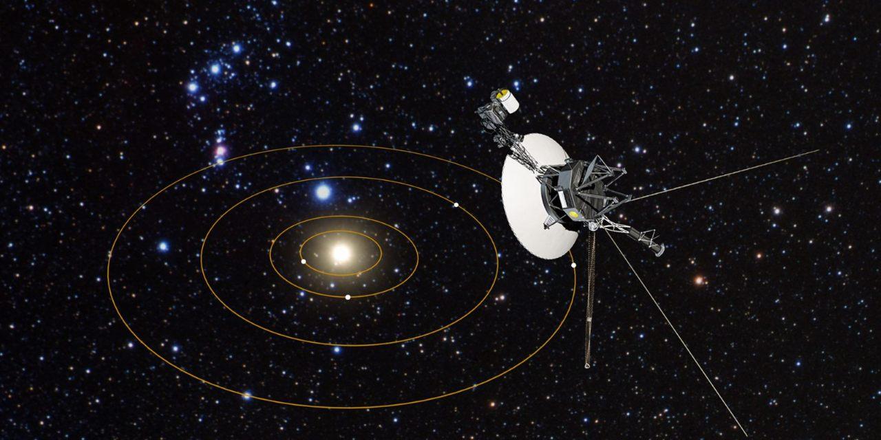 El telescopio Hubble y el camino de las sondas Voyager