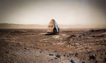 SpaceX y la NASA buscan lugares de aterrizaje en Marte para la nave Dragón