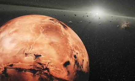 Los restos de un mini-planeta podrían estar en la órbita de Marte