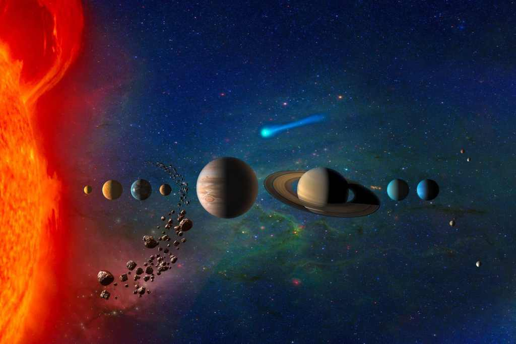 La Gran división del Sistema Solar y su importancia