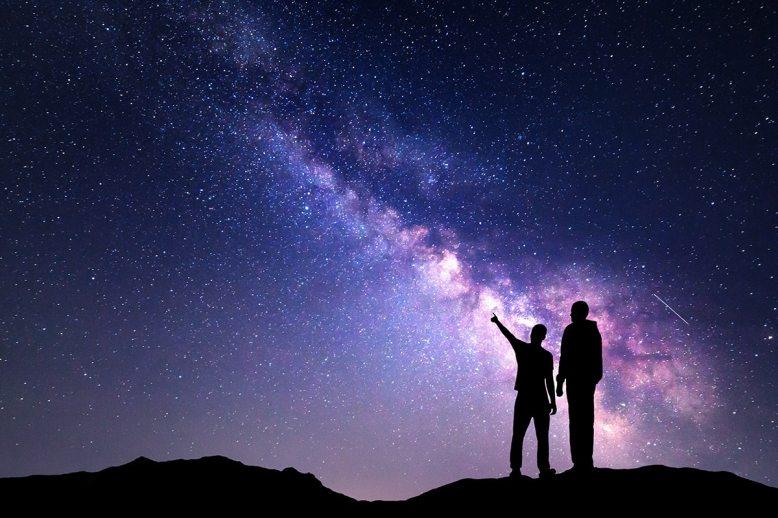 Es como si el cosmos hubiese cobrado vida y pudiese preguntarse... ¿qué hago aquí?