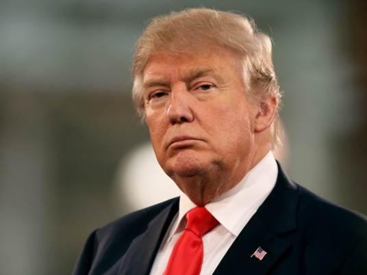 Donald Trump, presidente de los Estados Unidos...