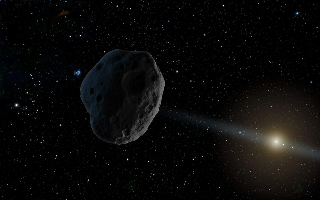 La simulación para desviar un asteroide acaba en fracaso