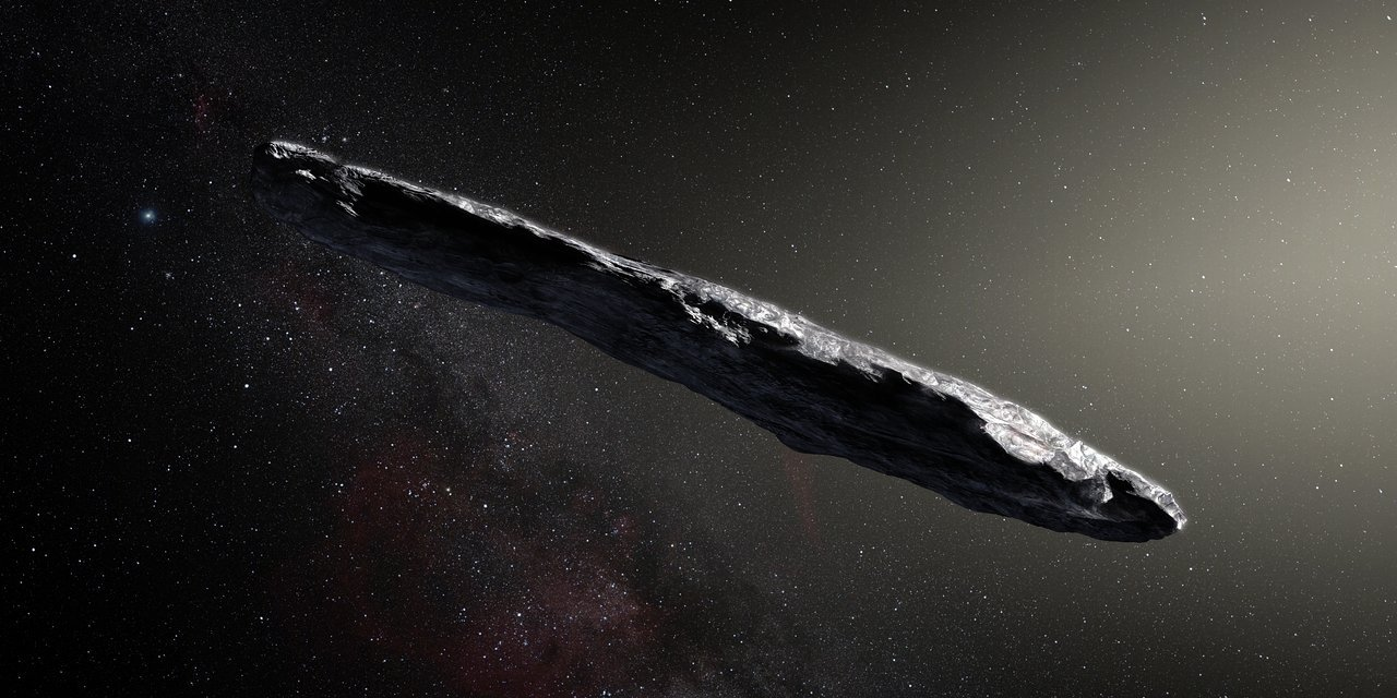Oumuamua y su intrigante aspecto