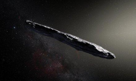 Oumuamua y su intrigante aspecto
