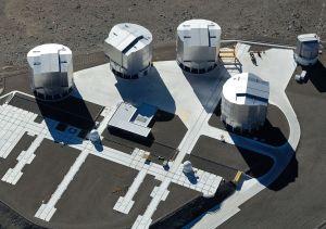 El Telescopio Muy Grande supera la definición del Hubble