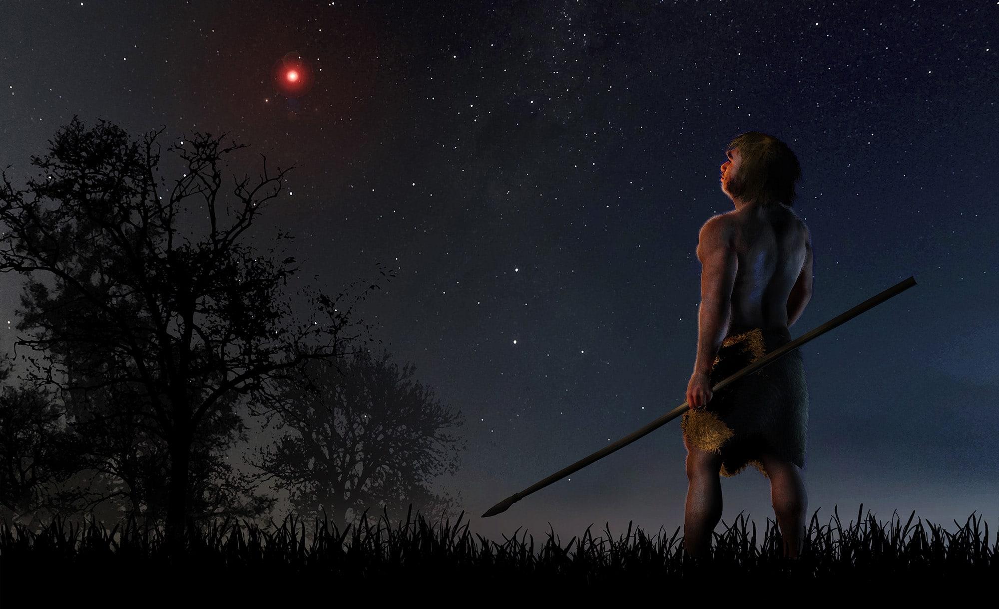 La estrella de Scholz pudo perturbar el Sistema Solar hace 70.000 años