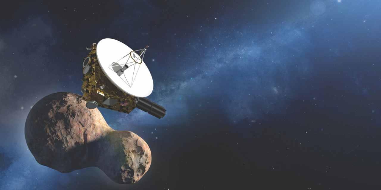 New Horizons completa su visita de Ultima Thule