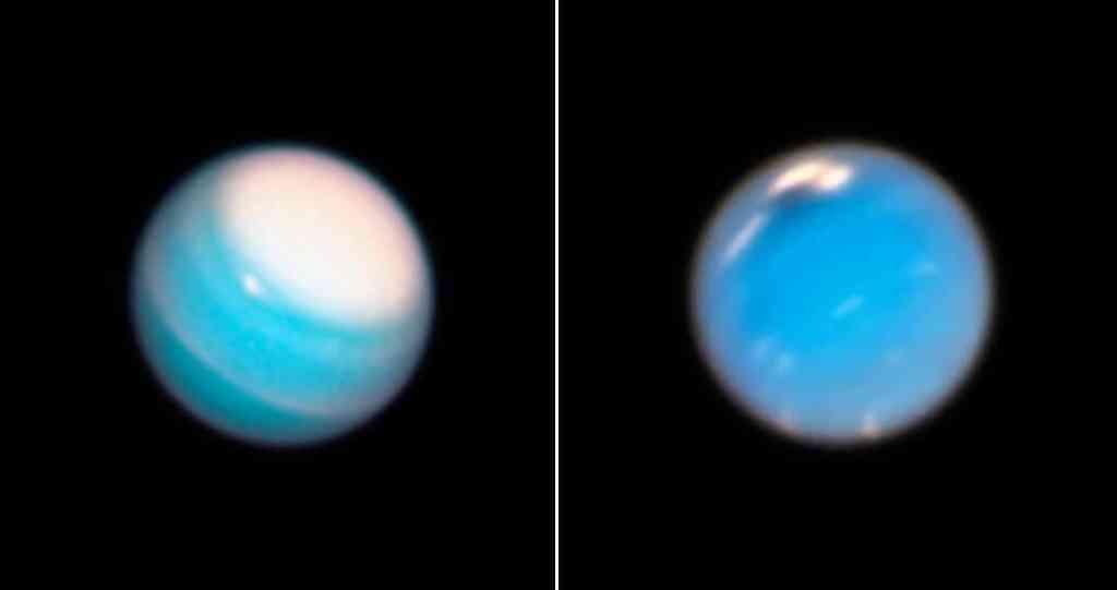 Las tormentas de Urano y Neptuno