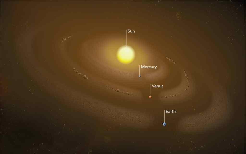 Podría haber un anillo de polvo alrededor de Mercurio
