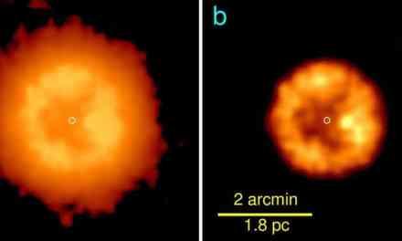 Descubren una estrella resucitada tras una colisión