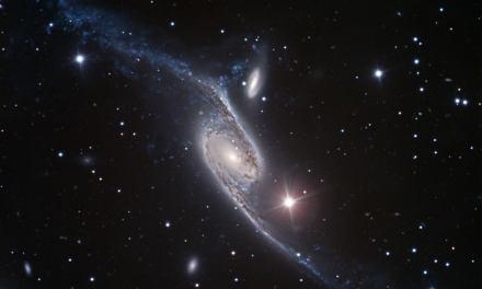 Las galaxias masivas rotan más rápido que la Vía Láctea