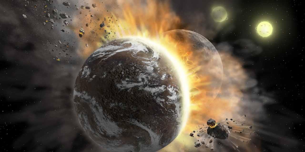 Detectan una colisión entre exoplanetas