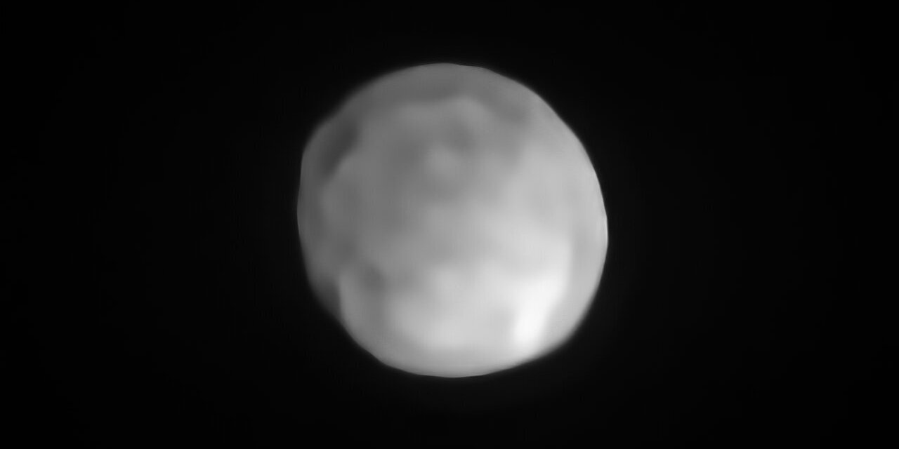 Hygiea, un nuevo planeta enano en el Sistema Solar