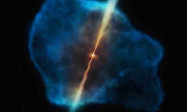 El festín de los agujeros negros en el inicio del universo