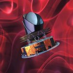 Model van de Planck satelliet