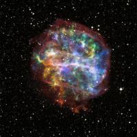 De vreemde supernova-restant G292.0+1.8