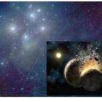 Planeetvorming in de Pleiaden?