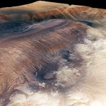Hebes Chasma in 3D