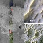 Grote zoutafzettingen op Mars ontdekt