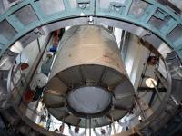 De GLAST bovenop de Delta II draagraket