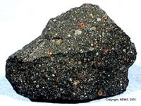 De onderzochtte Murchison meteoriet