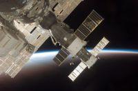 De Soyuz tma-9 bij de ISS