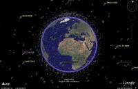 Satellieten in Google Earth
