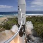 1e commerciële ruimtevlucht Falcon I succes