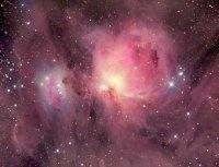 Wolken van moleculair gas bij jonge sterren