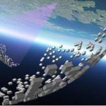 Een magnetische ruimtetelescoop van 200 meter