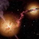 Superzware zwarte gaten kwamen ook in het vroege heelal voor