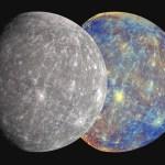 Mercurius grijs én in kleur