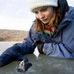 Beelden van de Canadese meteorieten