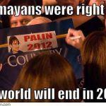 Krijgen de Maya's dan toch gelijk?
