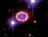 Het restant van SN 1987A