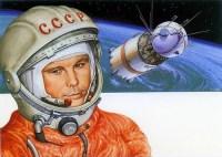Gagarin, de 1e ruimtereiziger