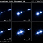 Hubble ziet jet opvlammen in M87
