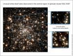 Hubble ziet vreemde witte dwergen bijeen