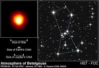 De superreus Betelgeuze