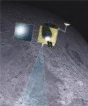 Onderzoekers ontdekken 'magmatisch water' aan oppervlakte maan