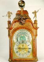 Staand horloge met planisferium