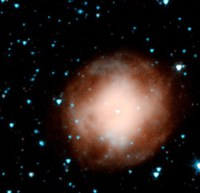 De stervende ster NGC 4361