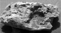 De door Opportunity gevonden meteoriet
