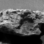 Wellicht een meteoriet op Mars ontdekt