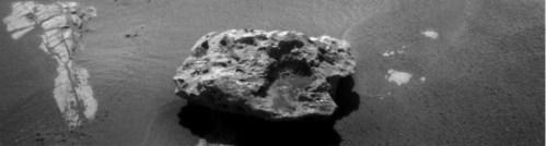Is dit een door Opportunity ontdekte meteoriet?