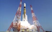 De lancering van de HTV-1