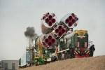 Soyuz klaar om circusartiest naar ISS te brengen