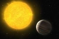 Voorbeeld van een exoplaneet